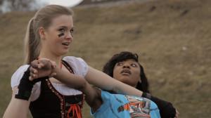Hannah Kabelka as Dirndl Warrior Princess | Return of the Habsburgs